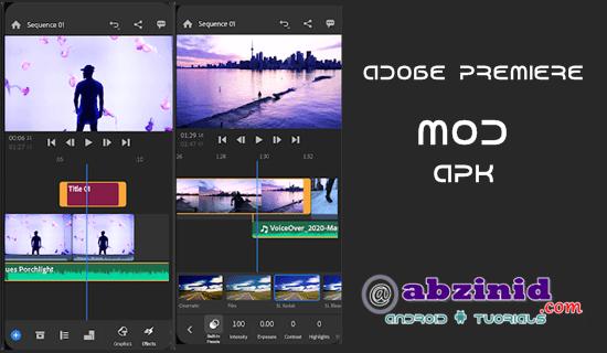 Adobe Premiere mod apk 2.0.0.1741 unlocked full features video editor