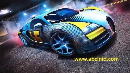 Asphalt:8 Airborne v5.1.1a Infinite Credits, Unlock all Races Mod Apk