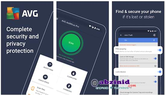 AVG Anti Virus Pro 6.31.1 updated android security unlocked mod apk
