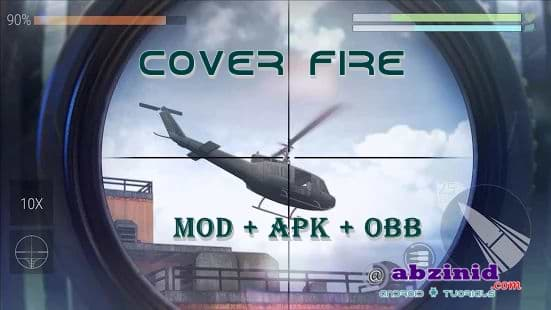 Cover Fire mod apk 1.20.24 obb data offline unlocked 2020 update unlimited money for android