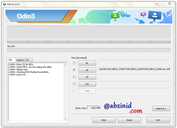 Odin Downloader latest version flash custom rom and recovery