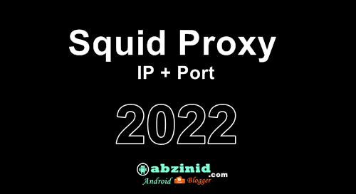 Free Squid proxy list ip and port for ssh accounts