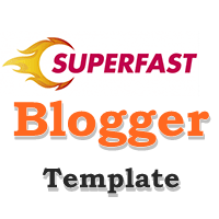 Download Superfast Blogger Template 2020 Mobile Responsive ads Ready